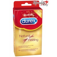 10 Durex Mais Natural - Sem Latex
