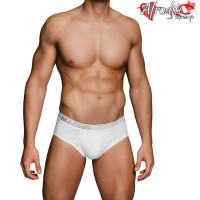 Cueca MACHO - MC088 Branca